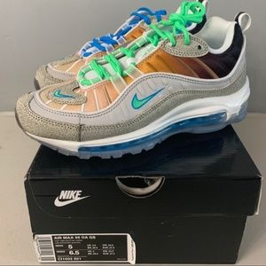 Nike Air Max 98 OA GS with original box Size 10.5